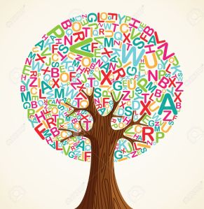 14777582-School-education-concept-tree-made-with-letters-Vector-file-layered-for-easy-manipulation-and-custom-Stock-Vector